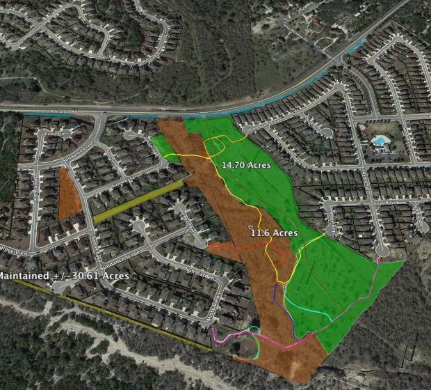 Sundance HOA Trails Systme and Volunteer Maint Map